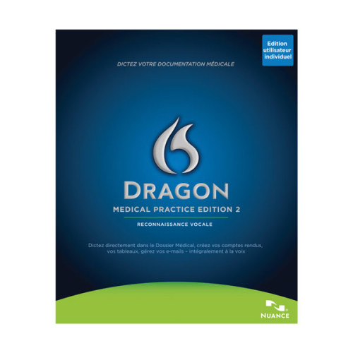 Dragon Medical Practice Edition French Front