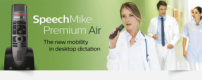 SpeechMike Premium Air - The New Mobility in Desktop Dictation