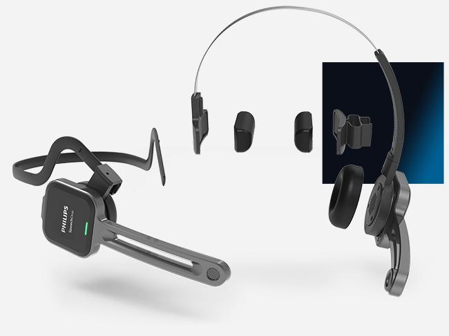 29358c73f79 Philips SpeechOne Wireless Dictation Headset - Talk2Me.com ...